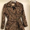 Michael Kors Jackets & Coats | Michael Kors Women Leopard Print Insulated Jacket | Color: Black/Tan | Size: M