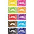 Ashley Productions® Non-Magnetic Mini Whiteboard Erasers, Chalk Loop, Pack Of 10, Size 0.75 H x 5.0 W x 11.0 D in | Wayfair ASH78002
