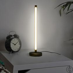 Wrought Studio™ LED Table Lamp Reading Lamp Office Lamp 7W Warm Light Desk Lamp Touching Switch Metal in Black/Gray/Green   Wayfair
