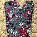 Lularoe Pants & Jumpsuits | Lularoe One Size Disney Leggings- Hidden Minnies | Color: Gray/Pink | Size: Os