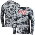 Men's New Era Black San Francisco 49ers Tie-Dye Long Sleeve T-Shirt