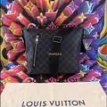 Louis Vuitton Bags | Authentic Louis Vuitton Mick Messenger Bag | Color: Black/Gray | Size: 11 L X 3 W X 10 H