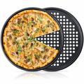 LFA Perforated Pizza Crisper Pan Nonstick Round Pizza Baking Sheet Pizza Pan w/ Holes | Wayfair LFAf2abef9