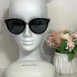 Michael Kors Accessories | New Michael Kors Sunglasses Vega Alta Black | Color: Black/Silver | Size: Os