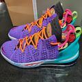 Nike Shoes | Nike Lebron 18 Men'S Basketball Sneaker Shoe | Color: Blue/Purple | Size: 11.5