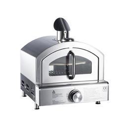 Pizza D'lite Outdoor Ovens Pizza D'lite Outdoor Oven Steel in Gray, Size 19.0 H x 17.0 W x 19.0 D in | Wayfair GB-GP02