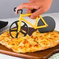 Roue de coupe Pizza vélo couteau à Pizza en acier inoxydable hachoir à Pizza Gadget de cuisine