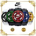 Nike Accessories | Nike Watch (Multicolor) Sports Analog Wristwatch | Color: Black/Blue | Size: Various