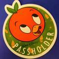 Disney Other | 2021 Taste Of Epcot Orange Bird Magnet | Color: Orange | Size: Os