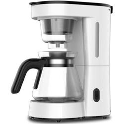 MYUENIANYYC INC 5-Cup Coffeemaker Coffee Maker Coffee Machine in White, Size 11.0 H x 10.1 W x 5.7 D in | Wayfair cc210710111125001