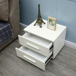 Ivy Bronx Bowdyn 2 - Drawer Nightstand in White, Size 19.6 H x 21.6 W x 14.5 D in | Wayfair 5ADCE0AD71724A9C9CB5DC65A719DF24
