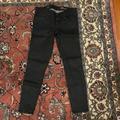 J. Crew Jeans   J. Crew Coated Black Denim Toothpick Jeans Size 24   Color: Black   Size: 24