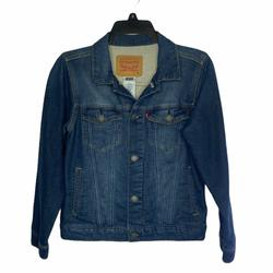 Levi's Jackets & Coats | Levis Denim Trucker Jean Jacket | Color: Blue | Size: 10-12 Years