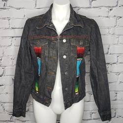 Zara Jackets & Coats   Custom Zara Trafaluc Black Denim Jacket   Color: Black   Size: M