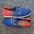 Polo By Ralph Lauren Shoes | Polo Ralph Lauren Merton Boat Men'S Casual Shoes | Color: Blue/Red | Size: Various