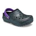 Crocs Starry Skies Glitter Kids' Classic Glitter Lined Clog Shoes