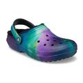 Crocs Multi / Black Classic Lined Out Of This World Clog Shoes