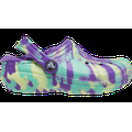 Crocs Neon Purple / Multi Kids' Classic Lined Marbled Clog Shoes