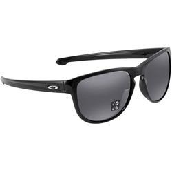 Sliver Round Irdium Polarized Sunglasses Sunglasses 934216 57 - Black - Oakley Sunglasses