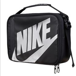 Nike Bags | New Nike Big Logo Insulated Lunch Bag Lunch Box | Color: Black/Silver | Size: Os