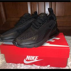 Nike Shoes   Nike Air Max 270 Casual Shoes   Color: Black   Size: Various