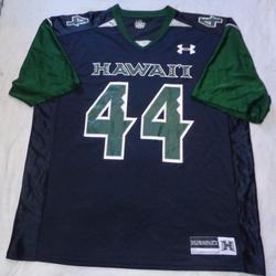 Under Armour Shirts | Hawaii Warriors Under Armour Football Jersey | Color: Black/Green | Size: Xl
