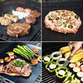 Quntis Qunits Bbq Grill Mat Set Of 2, Non-stick Reusable Grilling Baking Mats For Grill Oven Liner, Size 13.4 H x 0.01 W x 0.01 D in | Wayfair J40