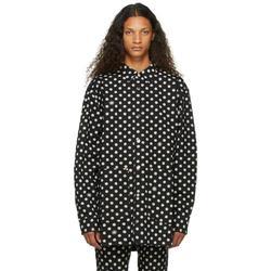 Black Denim Polka Dot Jacket - Black - Vyner Articles Jackets