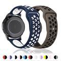 Bracelet en silicone pour Samsung watch 3, 45mm 41mm, Galaxy watch active 2/gear s3, Huawei Watch GT