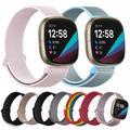 Bracelet en Nylon pour Fitbit Versa 3, montre intelligente de Sport pour femmes et hommes, doux et