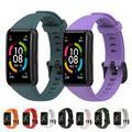Bracelet de rechange en Silicone pour montre connectée Huawei Honor band 6