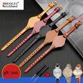 Bracelets de montre fossil ES3077 ES2830 ES3262 ES3060, en cuir véritable, de haute qualité, petits