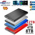 Disque dur externe SSD, usb 2.5, capacité de 8 to, 12 to, dispositif de stockage Portable pour