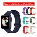 Bracelet de rechange en Silicone souple unisexe, pour montre de Sport Mi Watch Lite Redmi,