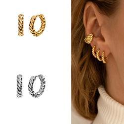 ROMAD – boucles d'oreilles Vintage en spirale pour femmes, boucles d'oreilles Punk fête, boucles