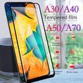 Vitre de protection d'écran original en verre trempé pour Samsung A30, protection de téléphone, A40