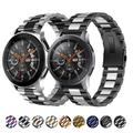 Bracelet de rechange en métal, pour Samsung watch 46mm/Active 2 42mm/Huawei GT2/Amazfit GTR, pour