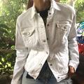 Levi's Jackets & Coats | Levi'S White Classic Denim Jacket | Color: Blue | Size: L