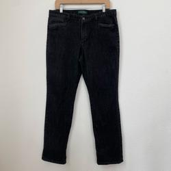 Ralph Lauren Jeans | Black Denim Jeans Ralph Lauren Size 12 | Color: Black | Size: 12