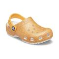 Crocs Orange Sorbet Glitter Kids' Classic Glitter Clog Shoes