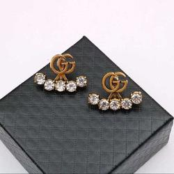 Gucci Jewelry   Geena   Luxury Brand Earrings   Color: Gold   Size: Os