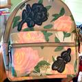 Coach Bags | Coach Mini Backpack | Color: Gray/Pink | Size: Os