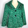 Nine West Jackets & Coats | 3 For $25 Nine West Suit Jacket Green In Size 8 | Color: Green/White | Size: 8