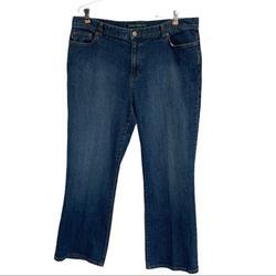 Ralph Lauren Jeans | Lauren Jeans Co. Blue Denim Straight Leg Jeans Size 16 | Color: Blue | Size: 16
