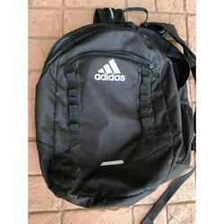 Adidas Bags | Adidas Load Spring Backpack School Travel Hiking | Color: Black | Size: Large