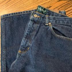 Ralph Lauren Jeans | L Auren Jeans Co. Dark Blue Denim Jeans | Color: Blue | Size: 8