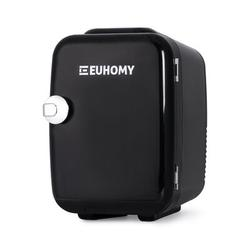 Euhomy Mini Fridge For Bedroom, 4 L/6 Cans Portable Fridge & Electric Cooler & Warmer, Car Fridge w/ Ac/Dc, Small Fridge For Room, Office in Black