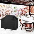 limerenc BBQ Gas Grill Cover, Performance Grill Cover,BBQ Cover,Dust & Water Resistant, Weather Resistant in Black, Size 26.0 H x 22.5 W x 66.5 D in
