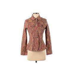 Analogy... Denim Jacket: Pink Jackets & Outerwear - Size Small
