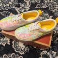 Vans Shoes   Era Elastic Lace Vans   Color: Pink/Yellow   Size: 13.5g